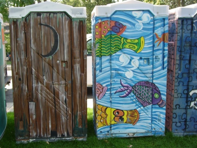 columbus designer porta potties