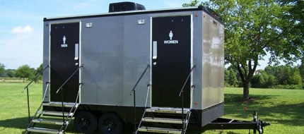 vip portable restroom trailers in Columbus OH
