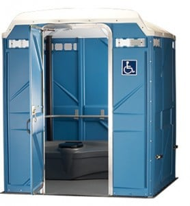 wheelchair accessible portable restroom columbus